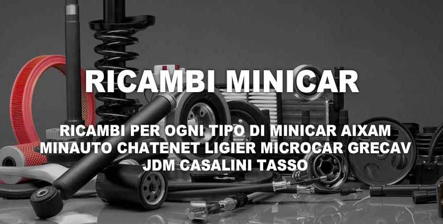 Ricambi Minicar Microcar